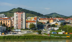 Maribor-Stadt, Slowenien Lizenzfreie Stockfotos