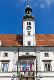 Maribor Town Hall in Slovenia stock images