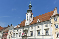 Maribor Town Hall in Slovenia stock image