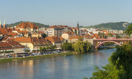 Maribor town, Slovenia Royalty Free Stock Images
