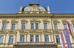 Maribor University building in Slovenia stock photo