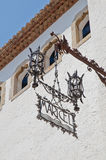 Maricel Palace at Sitges, Spain Stock Images