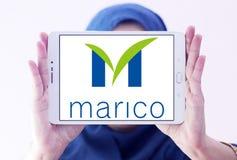 Marico-Waren-Firmenlogo Stockbilder