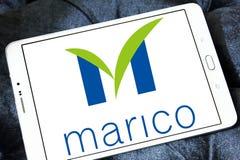 Marico-Waren-Firmenlogo Stockfoto
