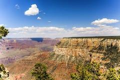 从Maricopa点的看法向大峡谷 免版税库存照片