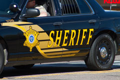 Maricopa County, Arizona, Police Car Royalty Free Stock Photography