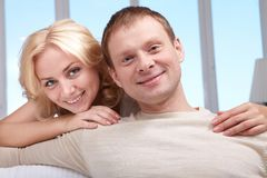 Marido e esposa Imagens de Stock