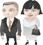 Marido e esposa ilustração stock