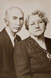 Marido e esposa Imagem de Stock