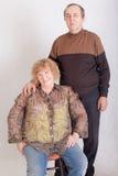 Marido e esposa idosos Imagem de Stock Royalty Free