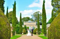 Marido e esposa no palácio Imagem de Stock Royalty Free