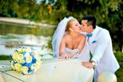 Marido e esposa novos Foto de Stock Royalty Free