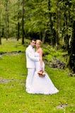 Marido e esposa novos Imagem de Stock Royalty Free