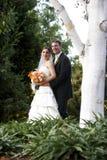 Marido e esposa - série do casamento Fotos de Stock Royalty Free