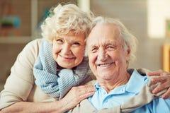 Marido y esposa Foto de archivo libre de regalías