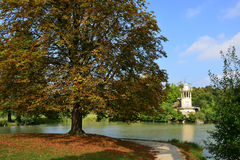 Marie Antoinette estate in the parc of Versailles Palace Royalty Free Stock Photos