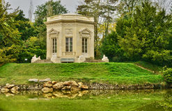 Marie Antoinette estate in the parc of Versailles Palace Royalty Free Stock Image