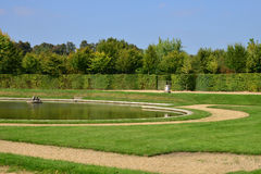 Marie Antoinette estate in the parc of Versailles Palace Stock Photos