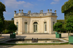 Marie Antoinette estate in the parc of Versailles Palace Royalty Free Stock Photography