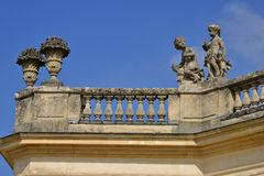 Marie Antoinette estate in the parc of Versailles Palace Stock Images