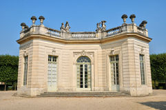 Marie Antoinette estate in the parc of Versailles Palace Royalty Free Stock Photo