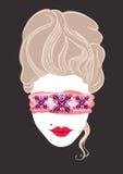 Marie Antoinette Illustration erótica Imagem de Stock