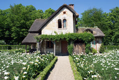 Marie Antoinette's Cottage at Versailles. Royalty Free Stock Image
