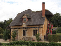 Marie Antoinette's Cottage at Versailles France Royalty Free Stock Photo