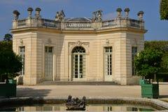 Marie Antoinette-Zustand im parc von Versailles-Palast Stockfotografie