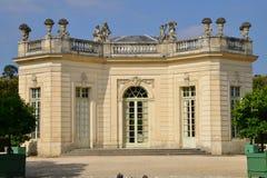 Marie Antoinette-Zustand im parc von Versailles-Palast Lizenzfreies Stockfoto