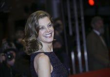 Marie Baeumer deltar i bokslutceremonin under den 68th filmen Royaltyfri Foto