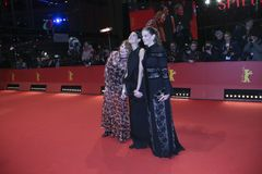 Marie Baeumer, Emily Atef, Birgit Minichmayr Imagens de Stock