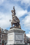 Marie-Christine de Lalaing in Tournai, Belgium. Royalty Free Stock Images