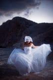 Mariée courante Photographie stock libre de droits