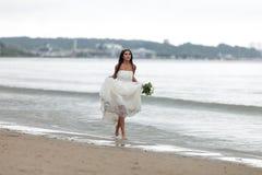 Mariée d'emballement Image libre de droits