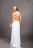 Mariée dans la robe de mariage Photos libres de droits