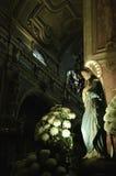 Marie di Virgen su una chiesa cattolica Immagini Stock
