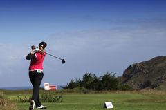 Marie Durant (FRA) Dinard golf cup 2011, France Royalty Free Stock Image