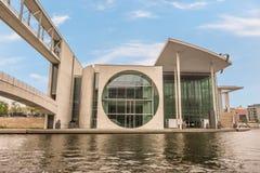 Marie-Elisabet-LÃ ¼ders-Haus i Berlin Arkivbilder