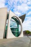 Marie-Elisabet-Lueders-Haus del av den tyska Bundestagen, i Berlin, Tyskland Royaltyfri Fotografi
