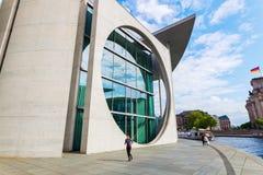 Marie-Elisabet-Lueders-Haus del av den tyska Bundestagen, i Berlin, Tyskland Royaltyfria Foton