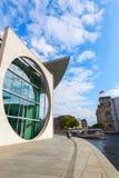 Marie-Elisabet-Lueders-Haus del av den tyska Bundestagen, i Berlin, Tyskland Royaltyfria Bilder