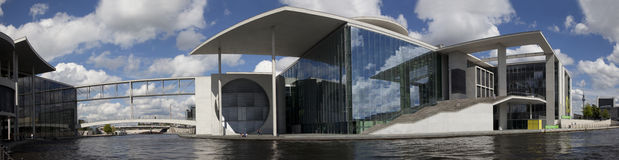 Marie Elisabeth Luders Haus and Paul Lobe Haus Royalty Free Stock Image