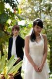 Mariée et marié Photographie stock libre de droits