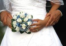 Mariée et marié Photos stock