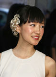 Marie Kondo Arrives 2015 au gala du temps 100 Photos stock