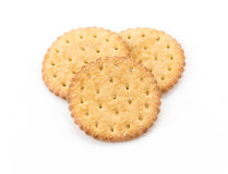 Marie sesame biscuit Royalty Free Stock Photo