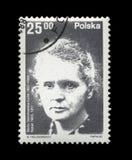 Marie Sklodowska-Curie, famous polish nobel prize winner,circa 1982, Stock Images