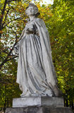 Marie Stuart Statue in Jardin du Luxembourg in Paris Royalty Free Stock Photos