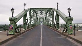 Marie Valerie Brücke, Esztergom, Sturovo Stockbild